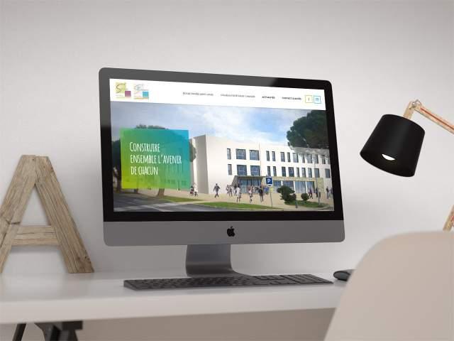 nouveau site internet École Saint Louis et Collège Saint Charles