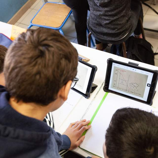 Un iPad pour apprendre