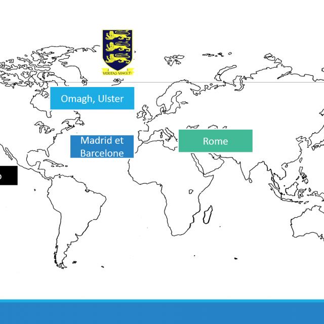 Carte des échanges